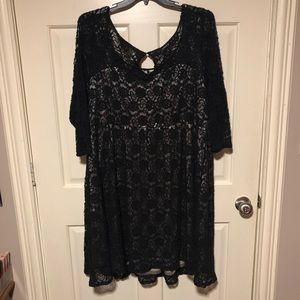 Black Lace Torrid Dress
